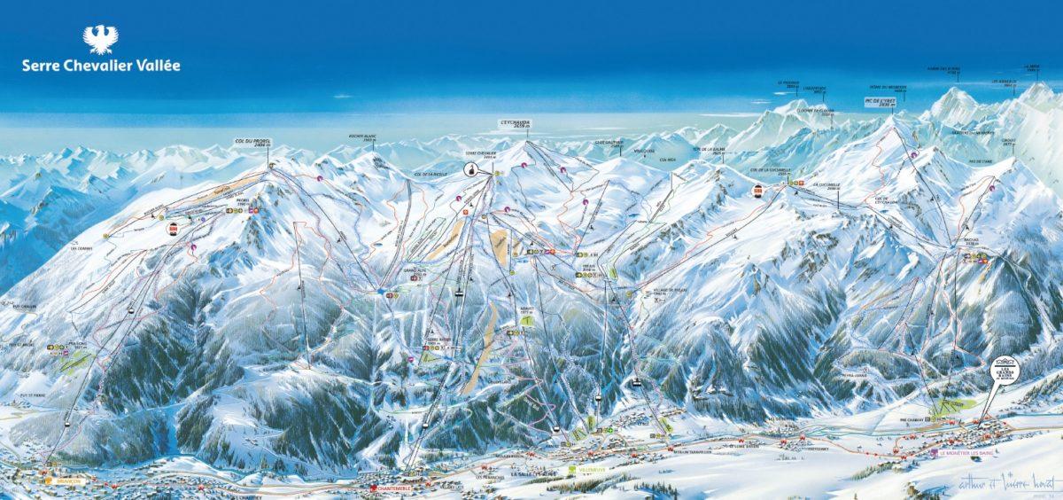 briancon-ski-map