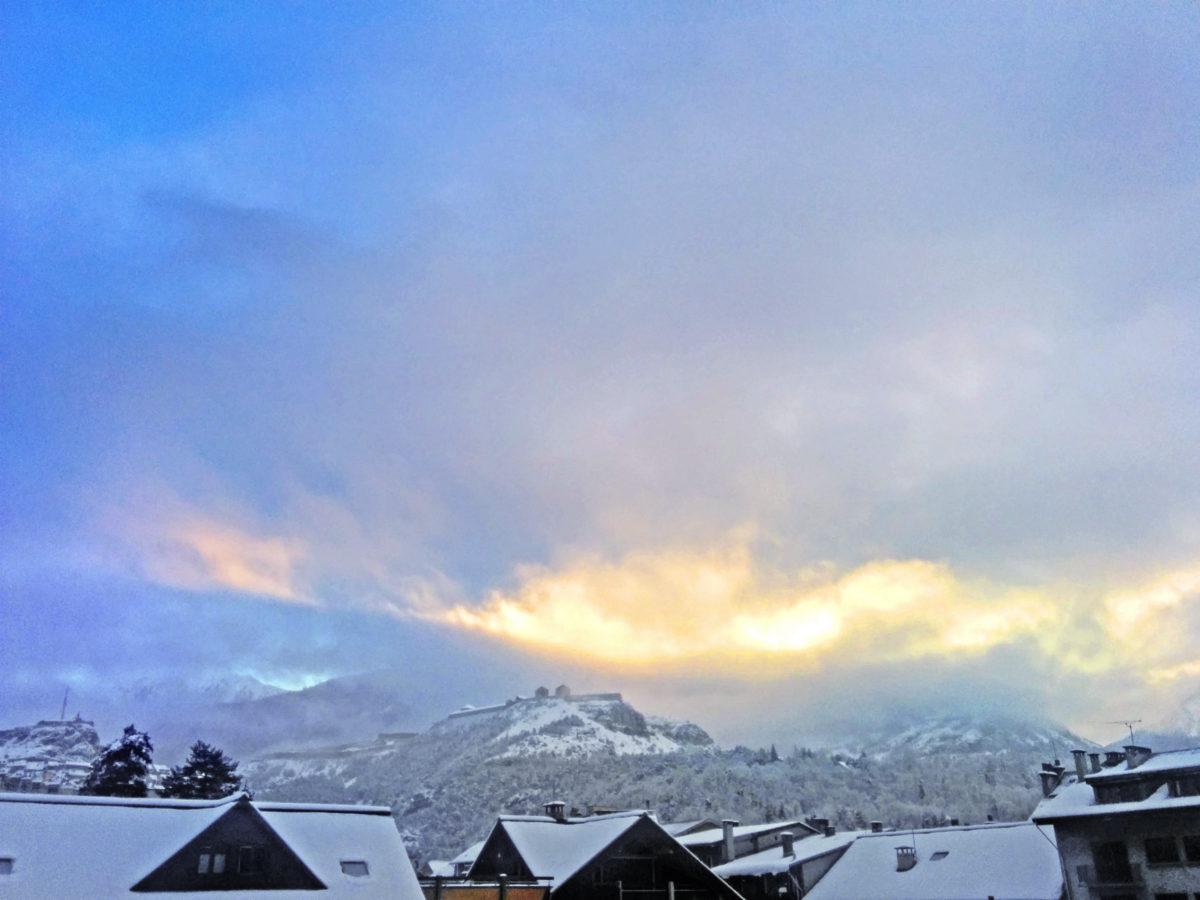 briancon morning panorama
