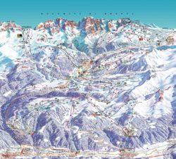 pinzolo-ski-map