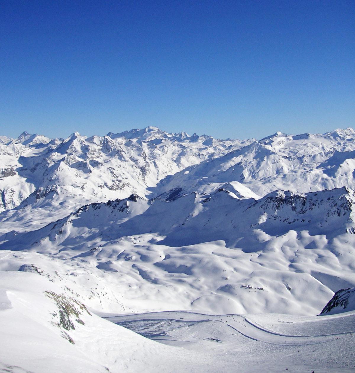 Grande Mote glacier view