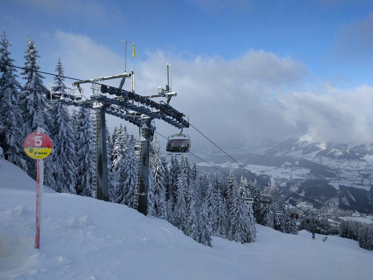 planai ski lift Schladming Dachstein