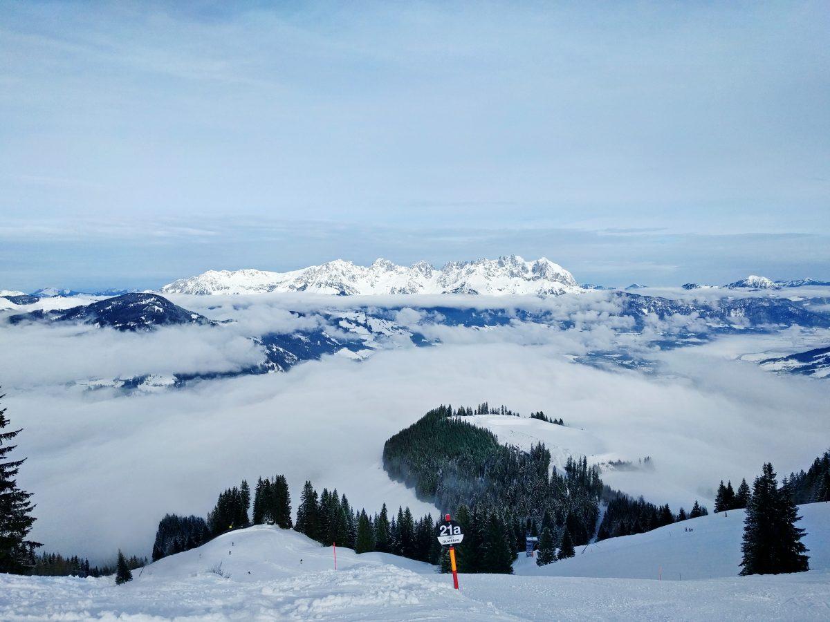 Wilder Kaiser Kitzbuhel Panorama