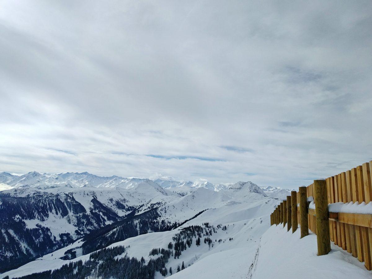 Kitzbuhel mountains panorama