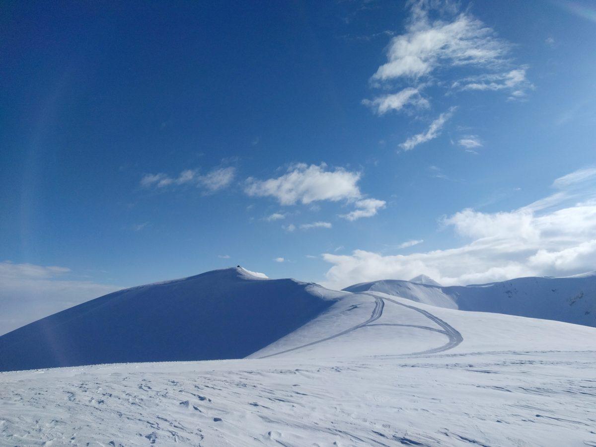Popova Sapka Panorama, hills on sunny day